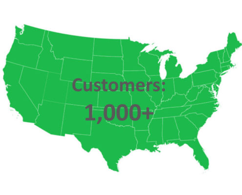Taxgals over 1000 clients served